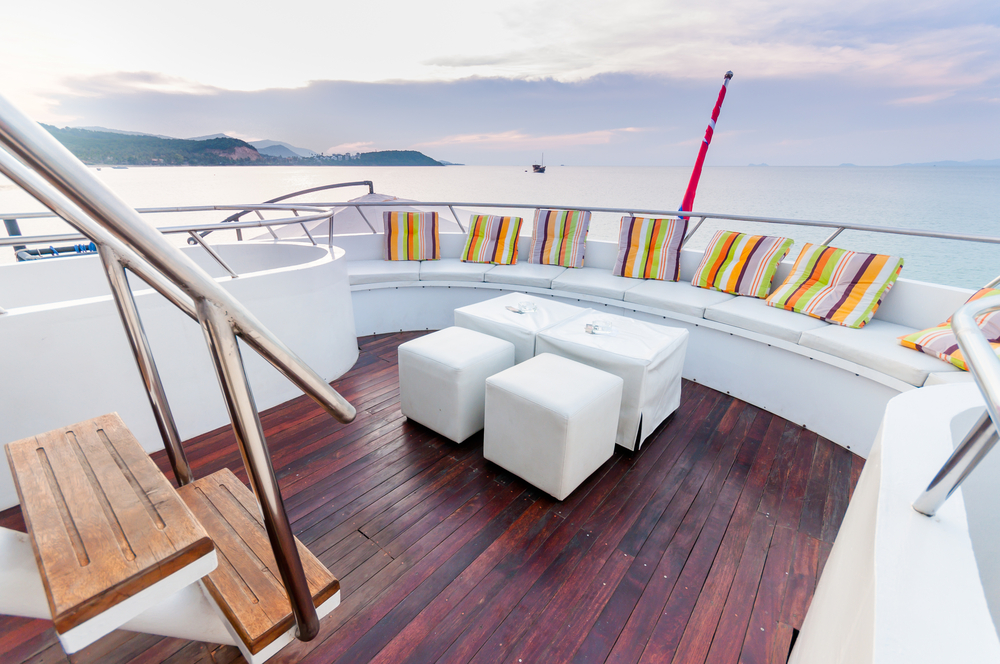 deck of a yacht