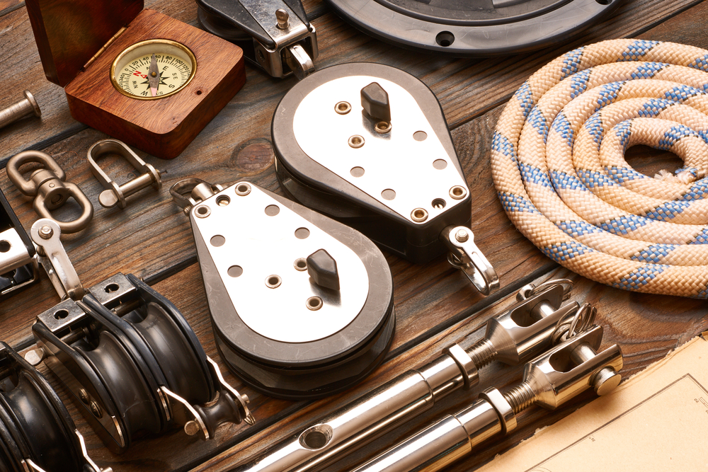 yacht equipment and spare parts